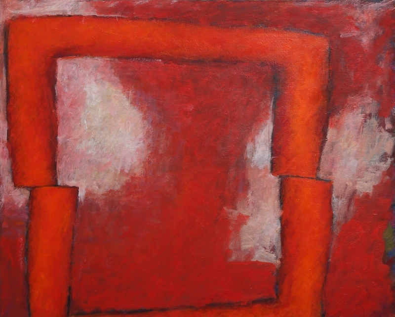 Red and White 2006   Oil on Canvas 80.3×100cm