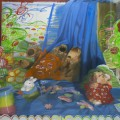 Colors on Canvas  oil on canvas F130